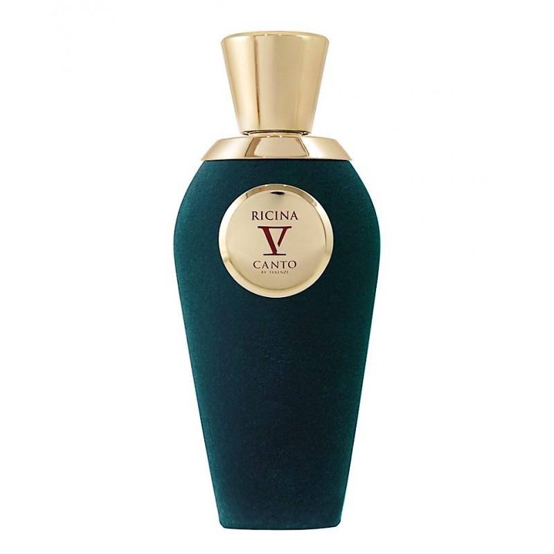 RICINA je luxusní niché parfém od V Canto. Je to přírodní extrakt. Bergamot, pomeranč, švestka,broskev.