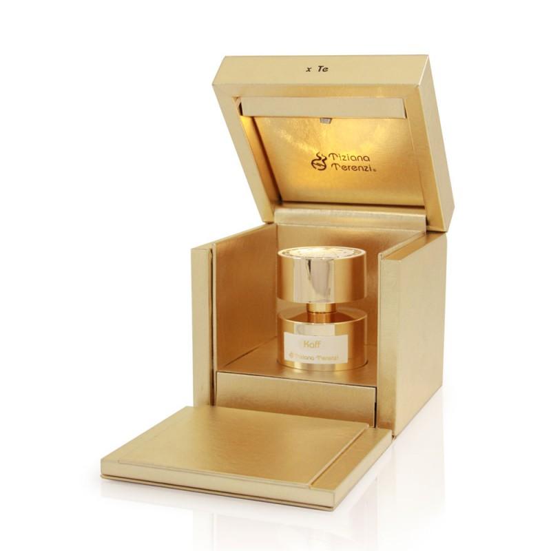 KAFF extrakt parfému od Tiziana Terenzi. Extrakt zázvor .cedr, santalové dřevo.