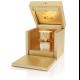 SAIPH liuxusní parfém řady Luna Stars.. Luxusní parfém ve zlaté dárkové kazetě s jantarovým světýlkem.