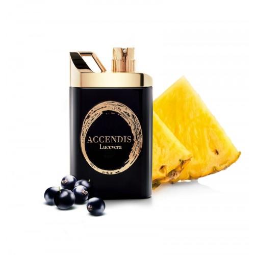 LUCEVERA luxusní parfém od Accendis. Složení bergamot, černý rybíz, anans a pačuli.