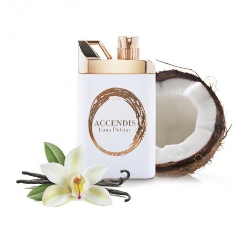 LUNA DULCIUS niché parfém symbolizující štěstí a prosperitu. Kokos, vanilka, bergamot.