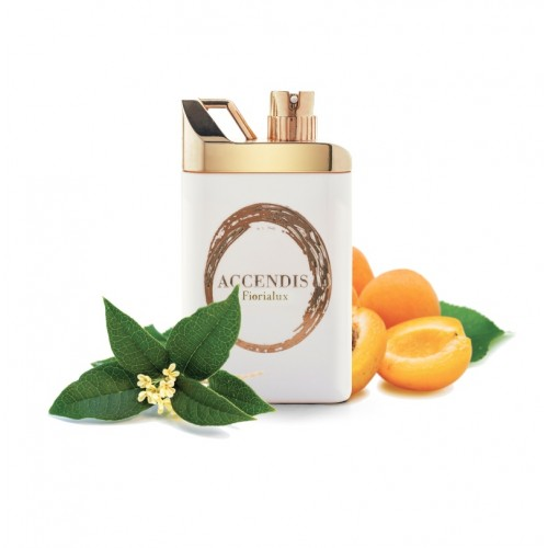 FIORIALUX niché parfém je luxusní vůně složená z bergamotu, meruňky, pačuli, jantaru a pižma.